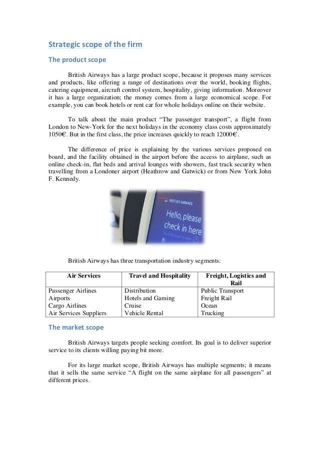 british airways case study ppt