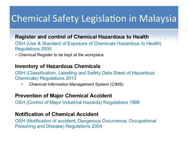 A discussion of importance of toxic chemicals