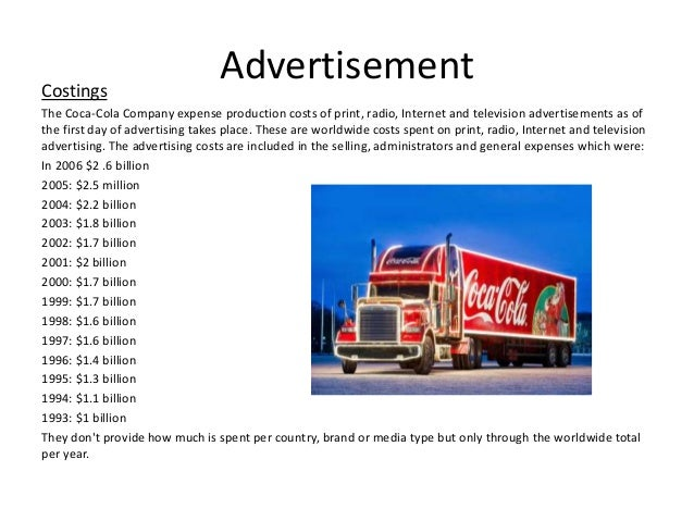 case study of coca cola advertising Read this business case study and over 88,000 other research documents coca-cola vs pepsi marketing example of coca cola and pepsi.