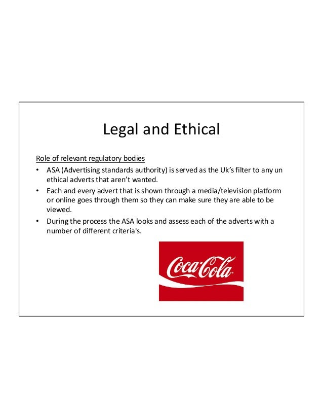 coke ethical issues Coke is it image is everything just ask these alumni by ashley k speed   joseph moan jd '88, chief ethics and compliance officer and associate general   more disturbing was the lack of any mention of ethical issues surrounding the .