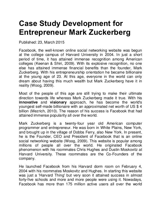 case study on entrepreneurship with questions and answers Answer to entrepreneurship case study for this assignment, following apa style, answer as comprehensively as possible the question.