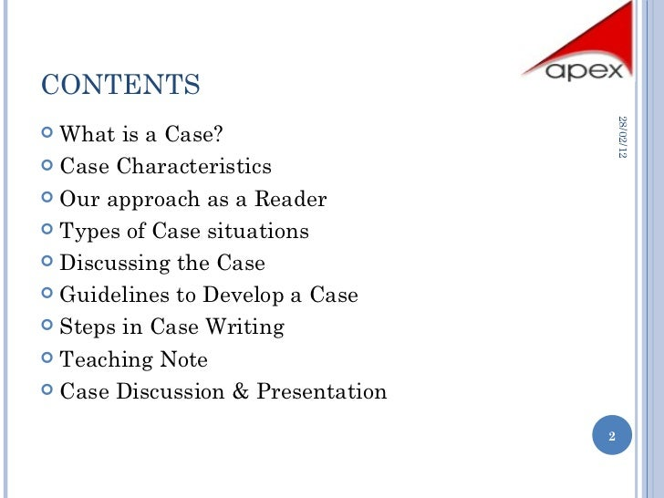 case study teaching note Teaching with cases: a practical guide  sample business case: teaching note for the catatech case: 3:  in a less stylized format in medical studies, professors .