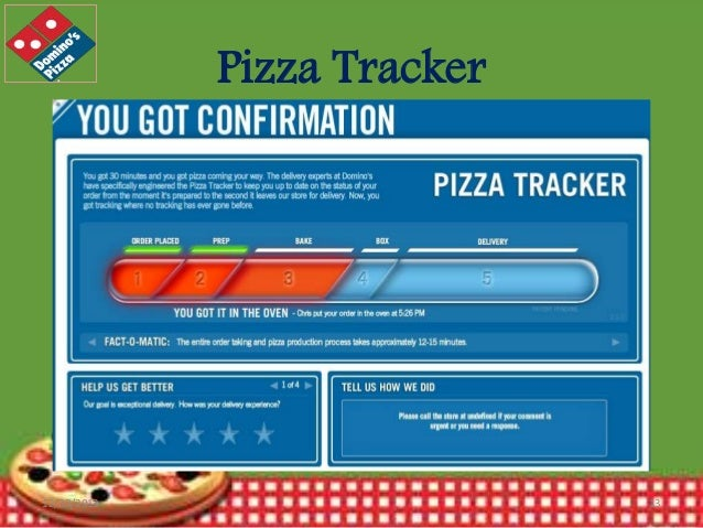 Pizza Tracker  12/30/2013  13