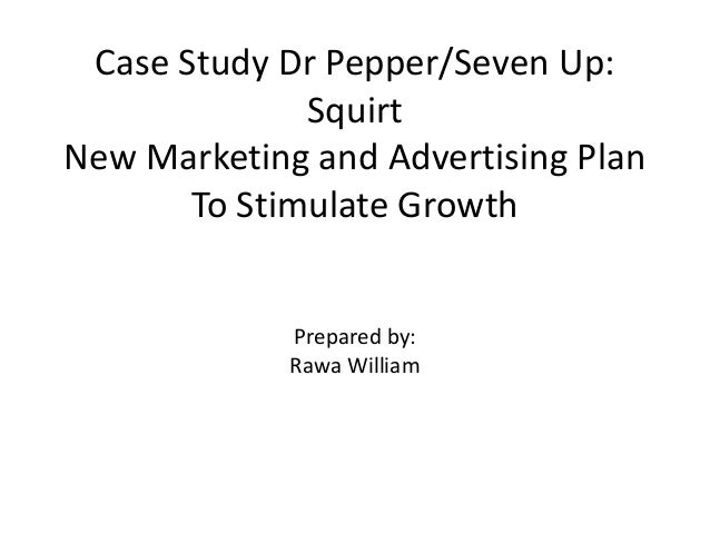 dr pepper/7up squirt case study