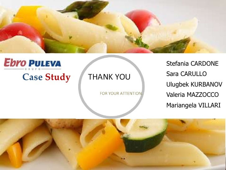 [Marketing Strategy]Ebro Puleva Case Study Analysis & Solution