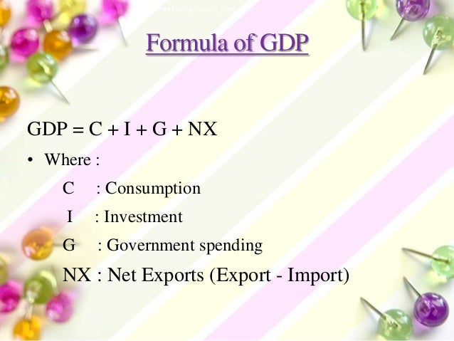 What is the difference between GDP and GMP?