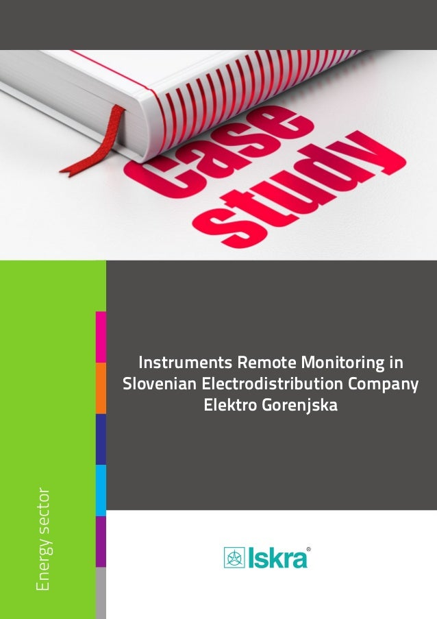 Energysector Instruments Remote Monitoring in Slovenian Electrodistribution Company Elektro Gorenjska Input/Output Modules...