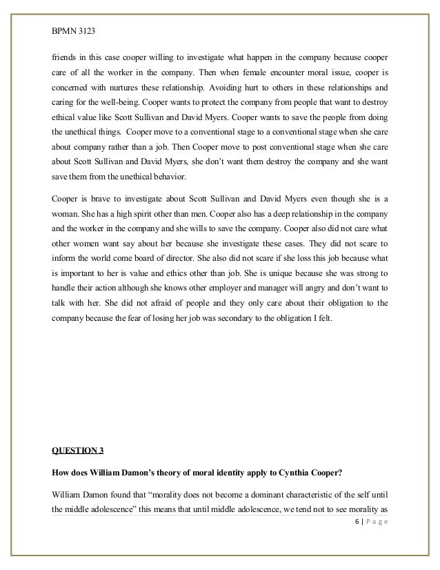 case study whistleblowing Case study: whistleblowing in the tobacco industry 961 words   4 pages case study: whistleblowing in the tobacco industry q1 briefly discern and report the background for the ethical situation the tobacco industry has a curious status in the american economy and in american culture on one hand, virtually everyone knows that tobacco is.
