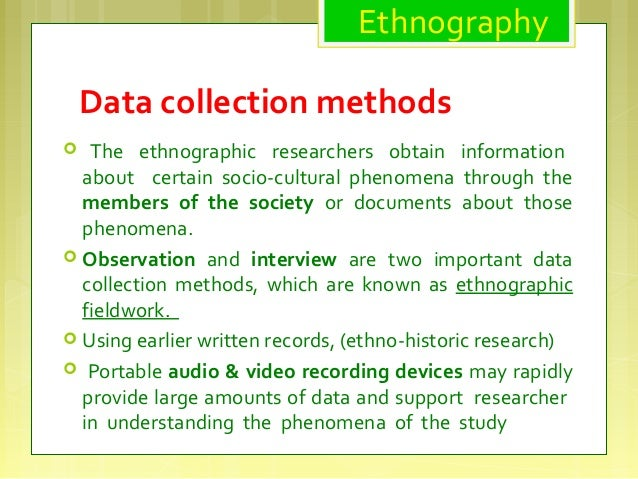 Theory and method in the study