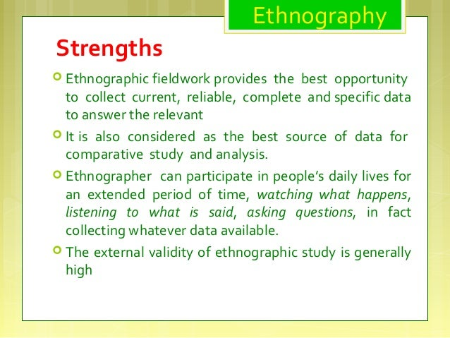 Using an ethnographic case study approach to identify ...