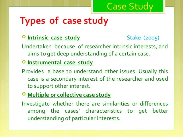 What is case study     SlideShare