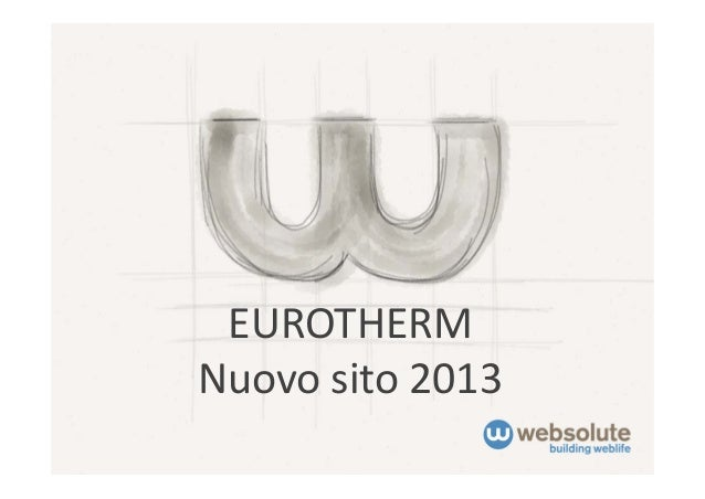 EUROTHERM Nuovosito2013