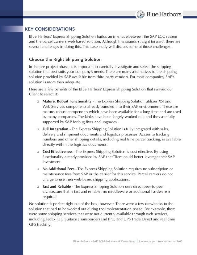 Freight transportation case studies: Service Freight ...
