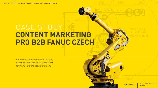 Motion range of the J5 axis rotation center rotat BOOST YOUR BUSINESS ONLINE CONTENT MARKETING PRO B2B FANUC CZECH 2CASE S...