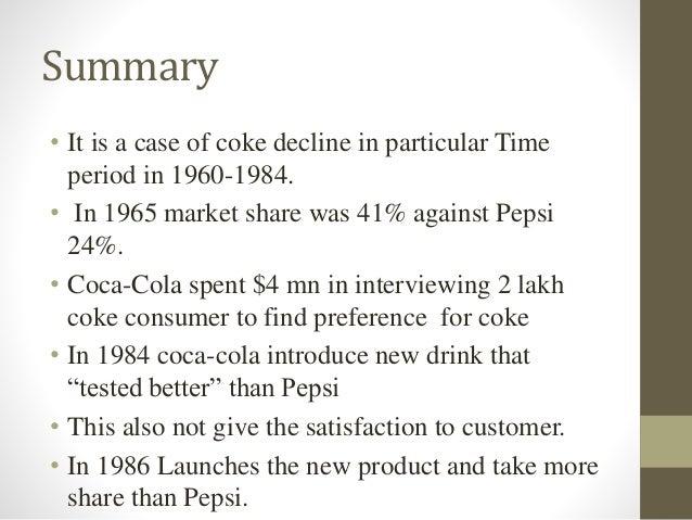 Cola Wars Case Study SlidePlayer