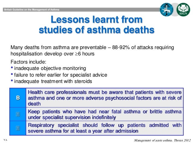 Acute Exacerbations of Asthma: Epidemiology, Biology and ...