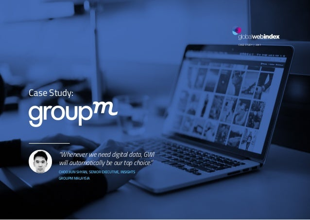 """1GROUPM CASE STUDY 