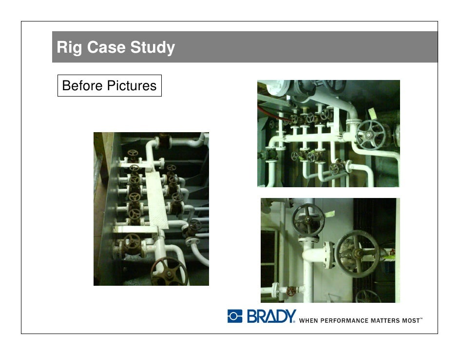 The oil rig case study