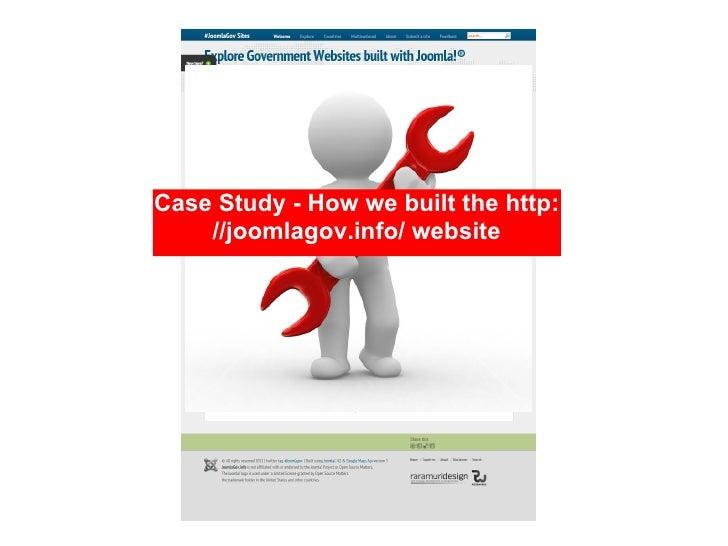 Case Study - How we built the http:    //joomlagov.info/ website