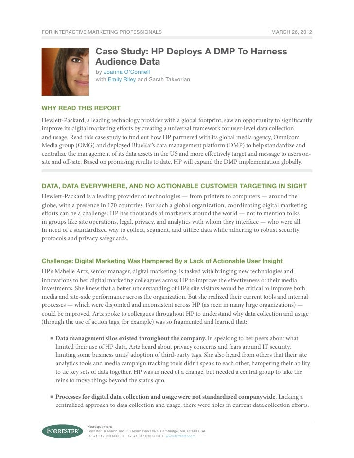 For Interactive Marketing Professionals                                                     March 26, 2012                ...