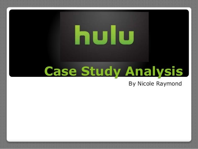 Case Study Analysis By Nicole Raymond