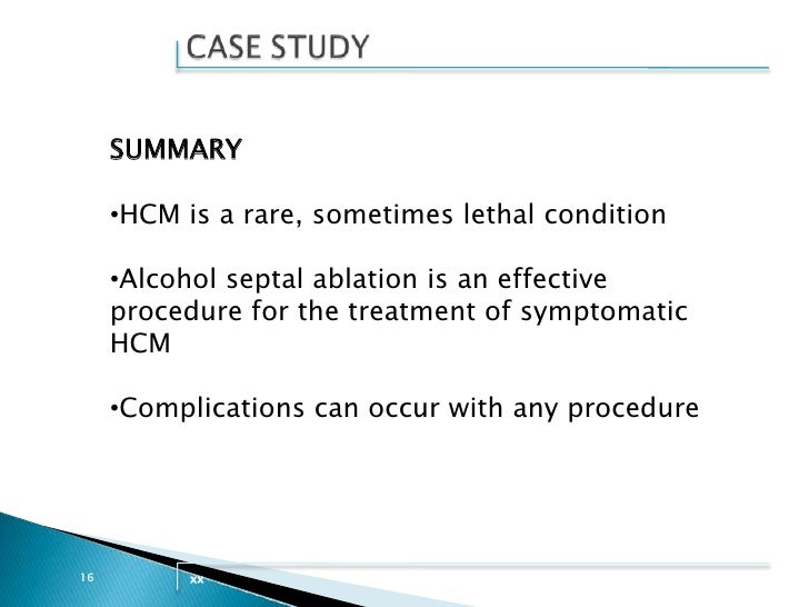 Case Study of a Patient With Ischemic Cardiomyopathy ...