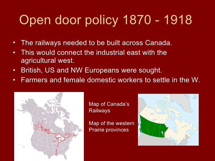 Open Door Policy History