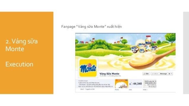 "2.Váng sữa Monte Execution Fanpage ""Váng sữa Monte"" xuất hiện"