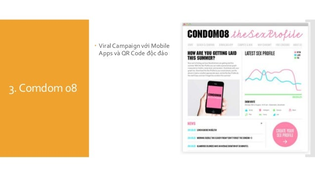 3.Comdom 08  ViralCampaign với Mobile Apps và QR Code độc đáo