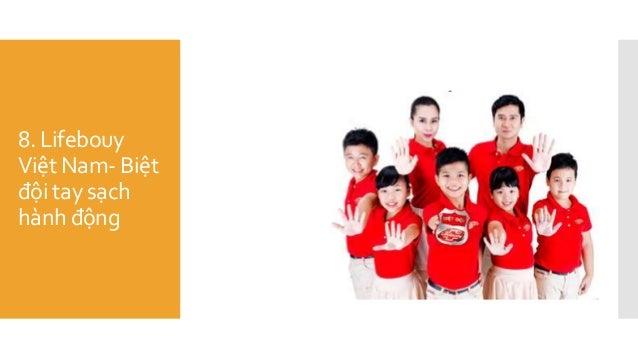 8. Lifebouy Việt Nam- Biệt đội tay sạch hành động