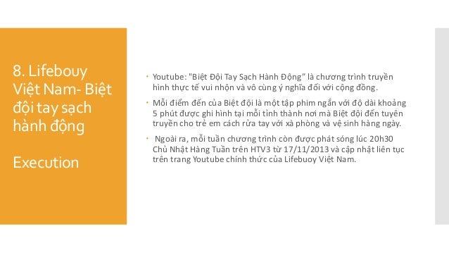 """8. Lifebouy Việt Nam- Biệt đội tay sạch hành động Execution  Youtube: """"Biệt Đội Tay Sạch Hành Động"""" là chương trìn..."""