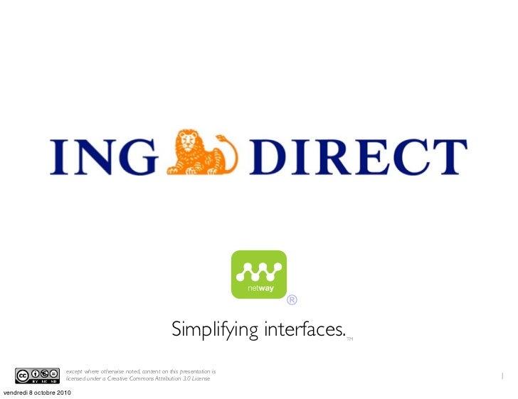 ®                                                                 Simplifying interfaces.   TM                          ex...