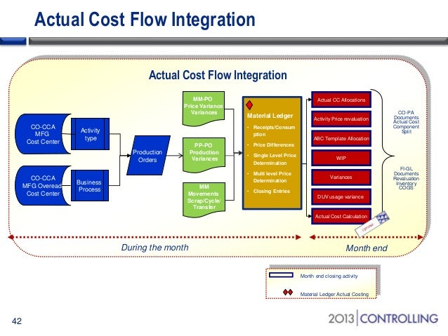 Case study in implementing sap material ledger