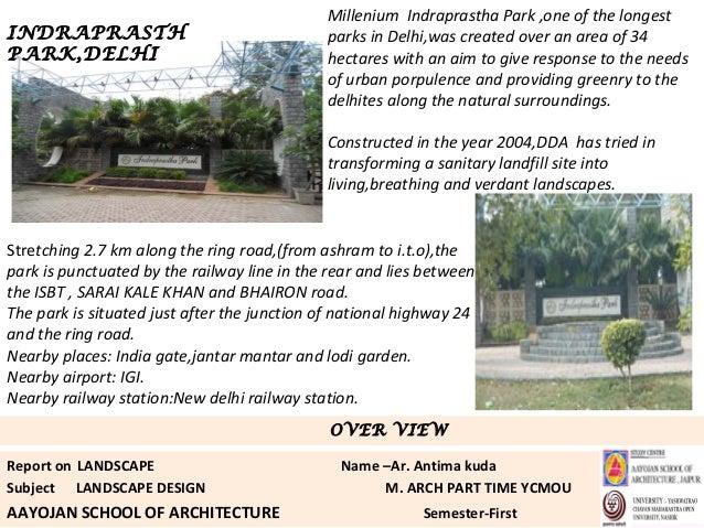 Landscape Design Courses In Delhi
