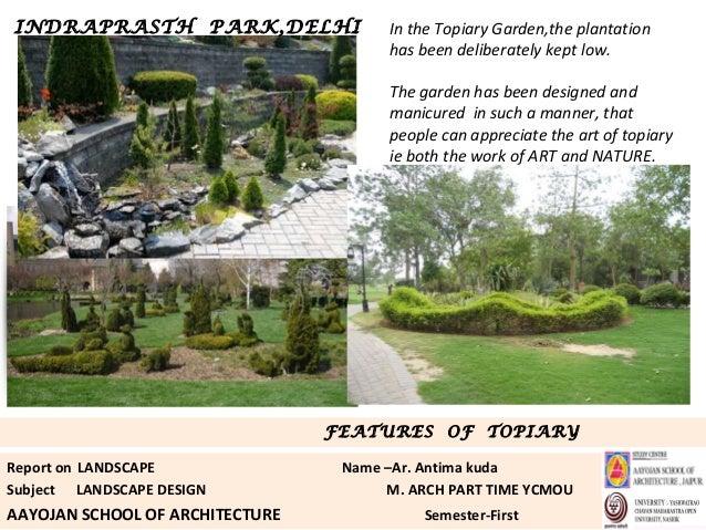 Casestudy landscape ip park for Landscape design courses home study