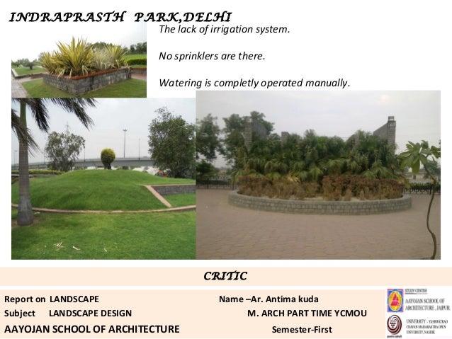 case study landscape design