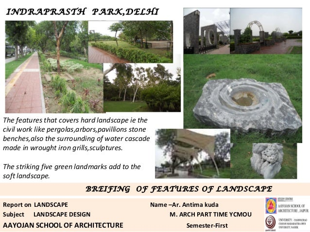 Casestudy landscape ip park for Learn landscape design