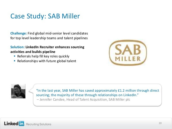 linkedin b2b case studies If you're not using linkedin ads as a part of your digital marketing  linkedin is  an essential component of any b2b marketing strategy in the digital  leads and  customers is showcased by our case studies and proven results.