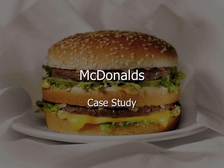 mcdonalds case study tnc