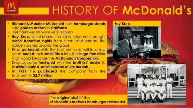 mcdonald s serving fast food around the world case study Personal selling michael makram mcdonald's  in 119 countries and territories around the world serving 58 million customers each  case study personal selling.