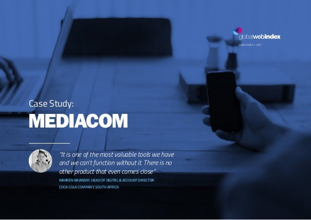 """1MEDIACOM CASE STUDY 