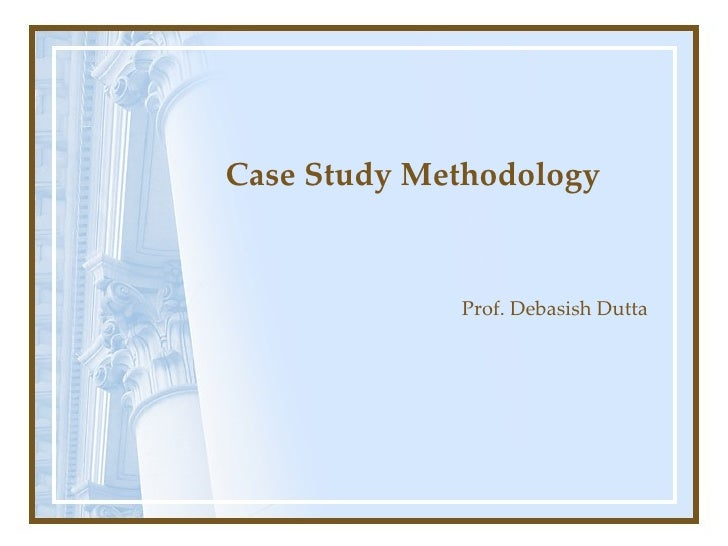 case study approach to learning Issues in informing science and information technology a single case study approach to teaching: effects on learning and understanding tony jewels.