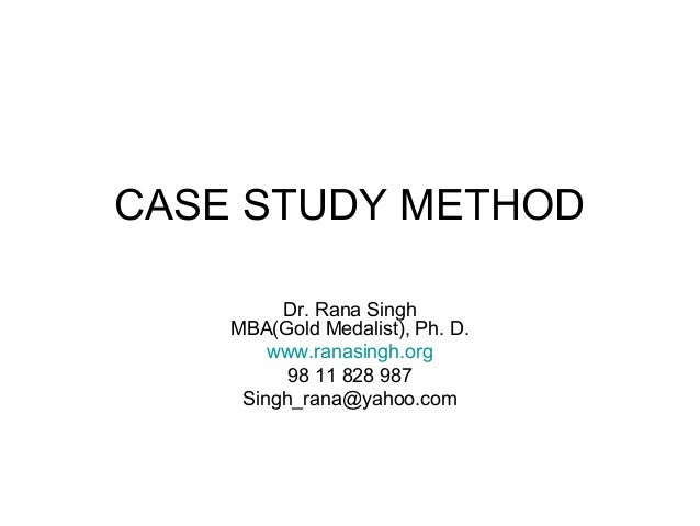 When can case study method be used   reportd    web fc  com