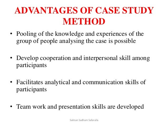 case study on training methods Case studies try to simulate decision making situation that trainees may find at their work place it reflects the situations and complex problems.