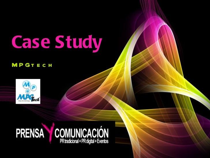 Case Study MPGtech