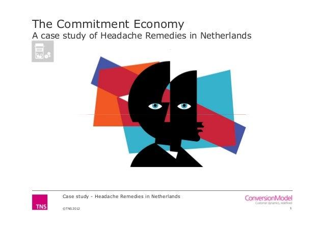 The Commitment EconomyA case study of Headache Remedies in Netherlands      Case study - Headache Remedies in Netherlands ...
