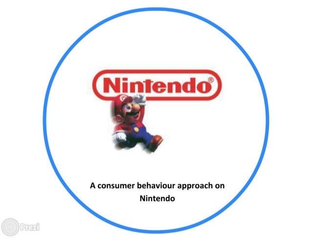 Case Study Nintendo A Consumer Behaviour Approach