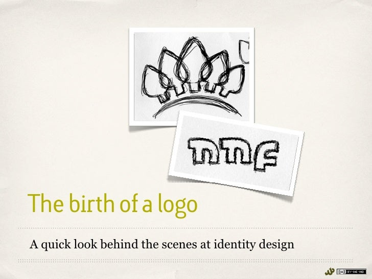 The birth of a logoA quick look behind the scenes at identity design