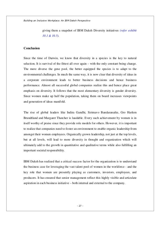 ibm daksh Building an inclusive workplace: an ibm daksh perspective authors: kulpreet kaur and vibha gupta company: ibm daksh mobile: +91 9818633266 (kulpreet), +91.