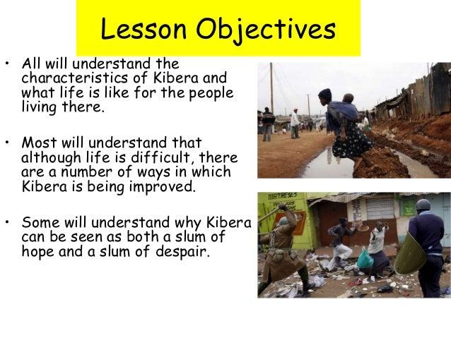 kibera case study geography